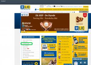 LIC homepage