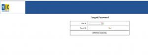 LIC merchant portal forgot password page