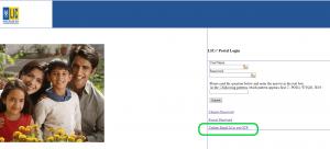 lic merchant portal login page update email id